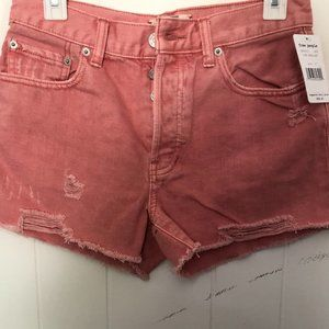 Free People Jean shorts  NWT